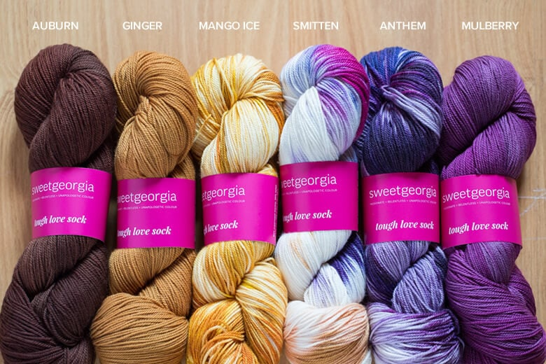 JITTERS // Auburn, Ginger, Mango Ice, Smitten, Anthem, Mulberry. Ohh my favourite colours, inspired by the coffee shop in one of my favourite shows, The Flash.