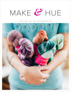 Make & Hue // 001 Colour // cover