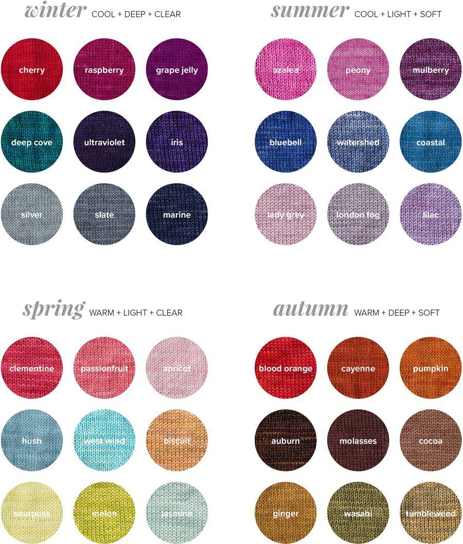 Seasonal Colour Palettes